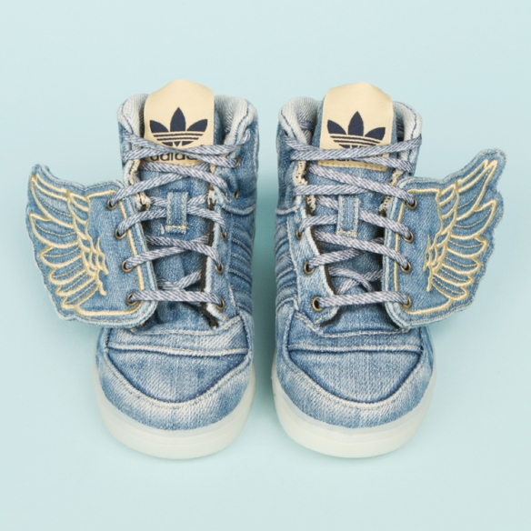 Jeremy Scott x Adidas - Denim stone washed 1