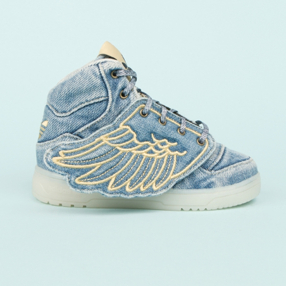 Jeremy Scott x Adidas - Denim stone washed 2